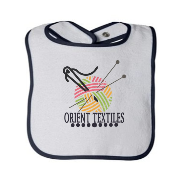 dark blue babies bib 2