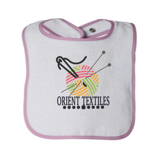 light pink babies bib 8