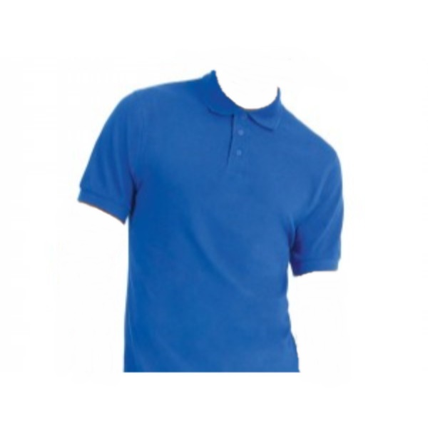 fun blue polo men shirt