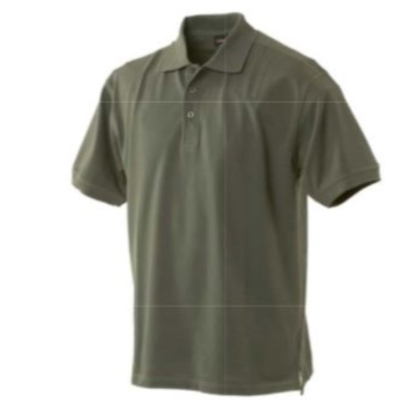 Men Pique Short Sleeve Polo Shirt
