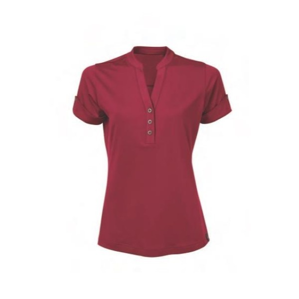 claret polo women shirt