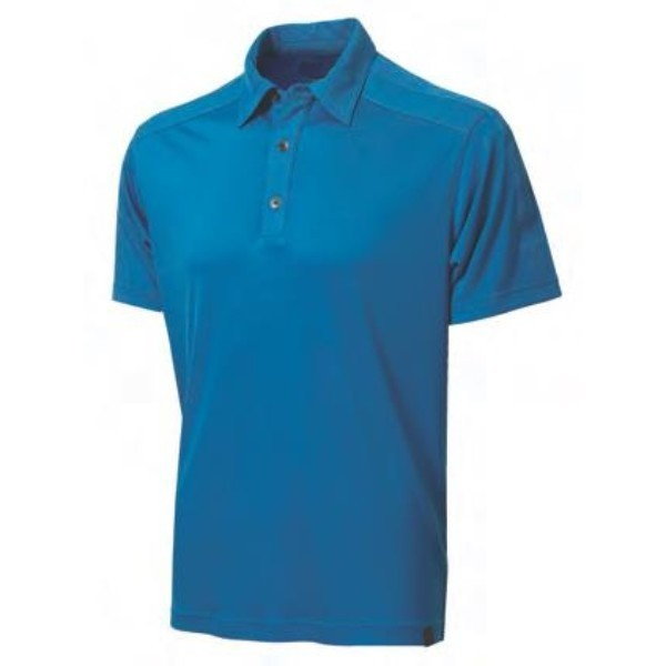 fun blue polo women shirt