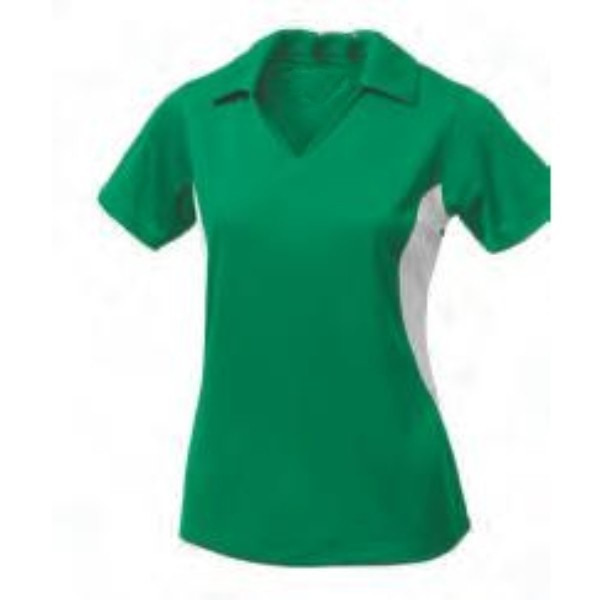 green haze polo women shirt